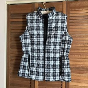 Relatively Quilted Vest EUC.